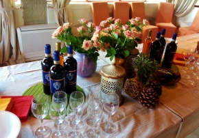 Blogger day at Villa di Petroio (Rufina)