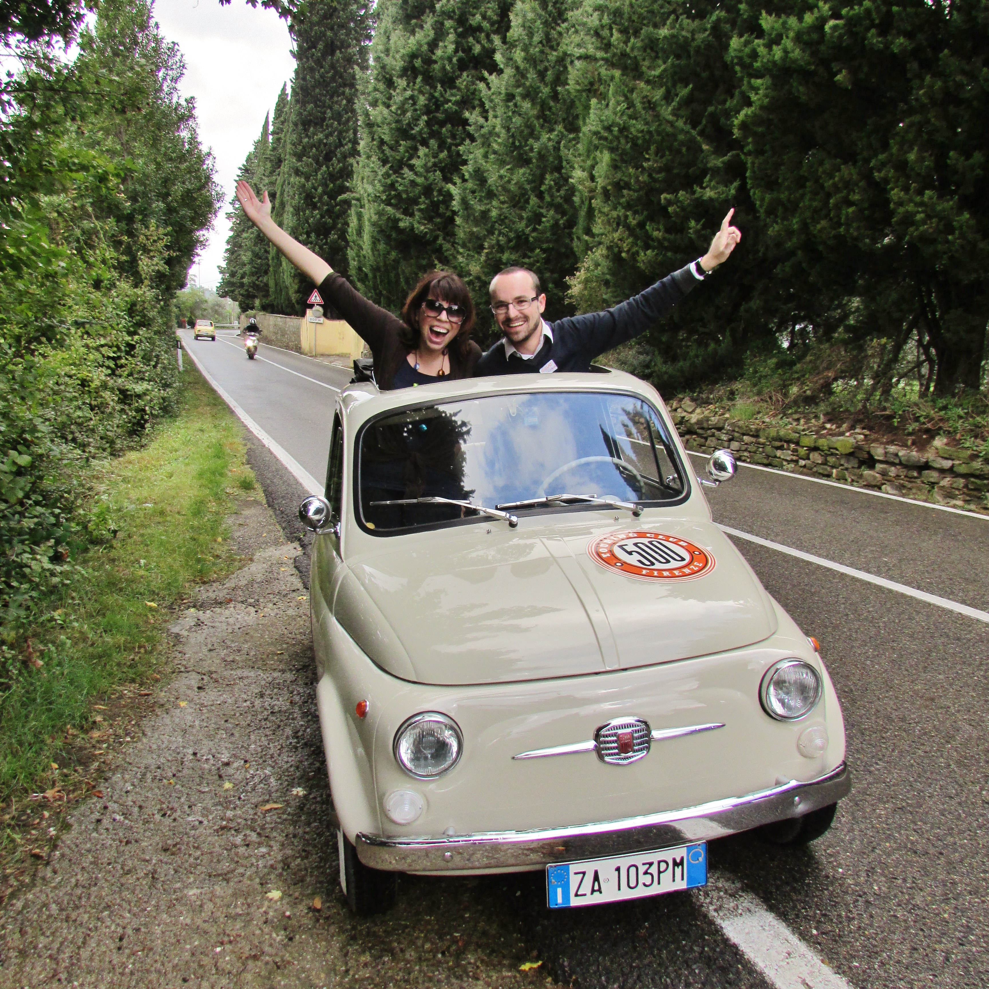 5 Ways To Sightsee With A Vintage Fiat 500